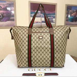 Gucci GG Pattern Sherry line Travel Bag 🧳